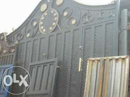 Professionally well finished Steel gates doors windows grills.