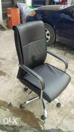 Leather Office Durable Chair (RM 0707) Lekki - image 1