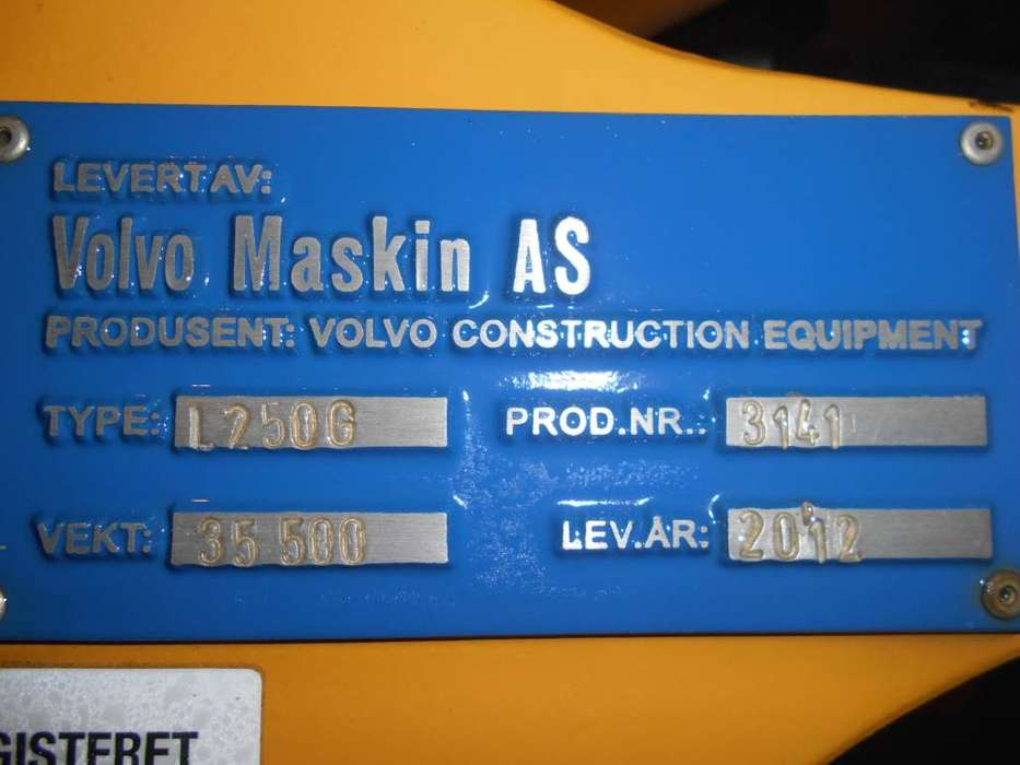 Volvo L 250 G - 2012 - image 7