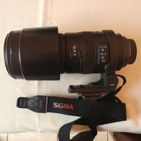 Sigma 150 - 500mm zoom lense