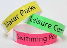 Security WristBands for Events and Swimming pools