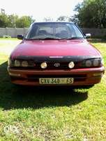 hy guys i am selling my toyota conquest