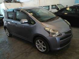 Toyota Ractis grey colour KCM number 2011 model loaded with good m