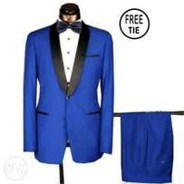 Men's Royal Blue Tuxedo Suit