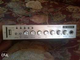 Dixon parametric equaliser with usb and memory card