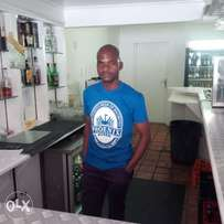 I aM looking for the job as a barman