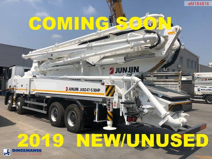 Mercedes-Benz Arocs 4142 8x4 E6 JunJin JXRZ47-5.16HP concrete pump NEW/...