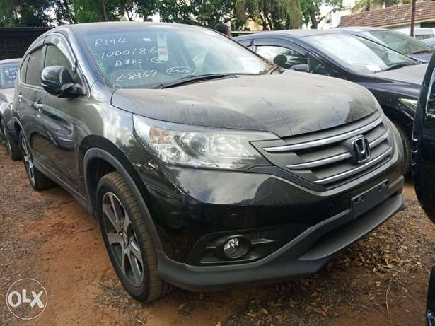 Newshape of Honda CRV Black 2012 model. KCP Mombasa Island - image 3