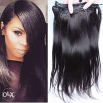 "100% Human Hair CLIP IN- EXTENSIONS 24"" (60CM)"