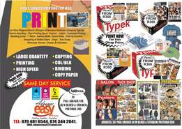 For All your Printing Jobs