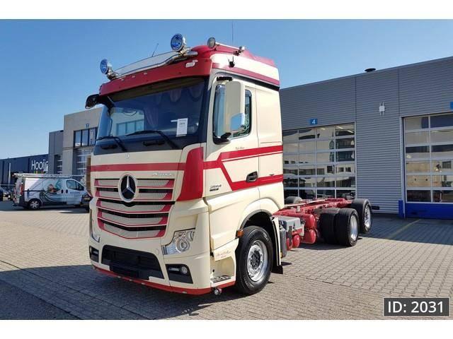 Mercedes-Benz Actros 2551 BigSpace, Euro 5, Retarder, Intarder - 2013