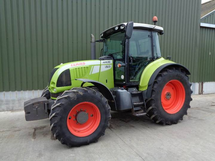 Claas 630 Arion 50k Tractor - 2009