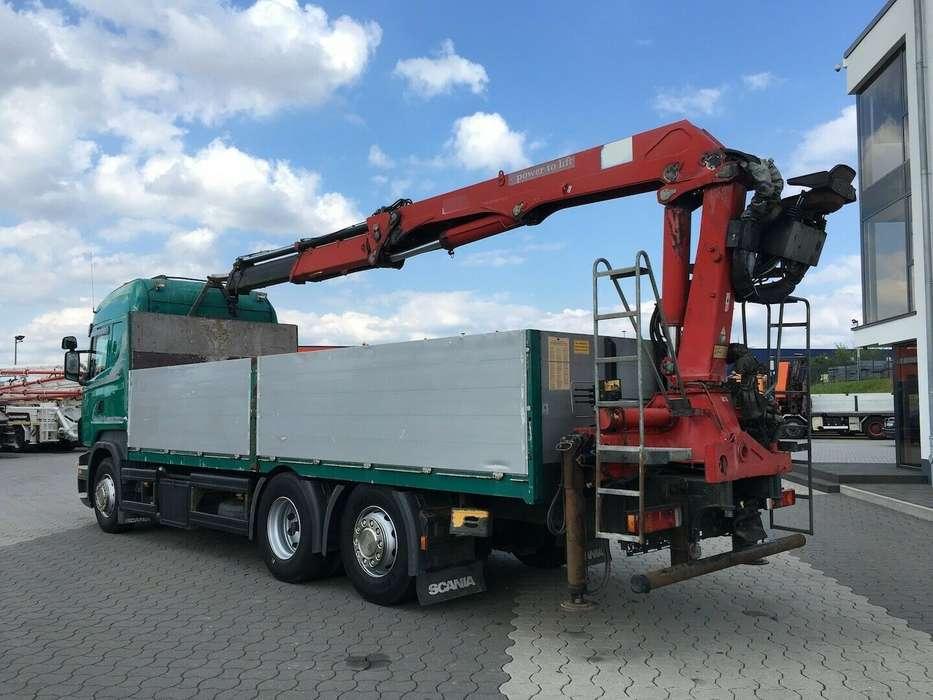 Scania R500 6x2 HMF 2000 L2 Baustoff Greiferleitung V8 - 2007 - image 6