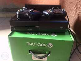 Xbox One Console and Accessories.