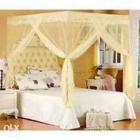 Mosquito Nets with firm metallic stands( plus variousdesigns)