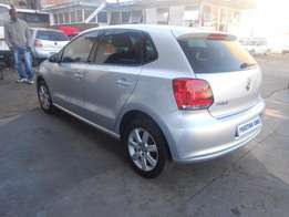 vw polo 6 1.4 hb (C) 2013 model silver colour