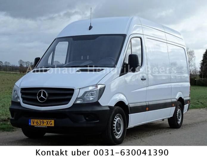 Mercedes-Benz SPRINTER 313 CDI L2 H2 96 KW EURO 5 KLIMA TEMPOM - 2015