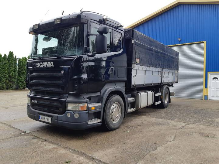 Scania R 420 manual Gb+Retarder  3 site tipper - 2007