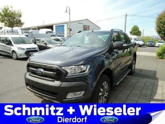 Ford Ranger DOKA 4x4 Wildtrak AHK/Rollo/Standheizung - 2019