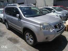 Silver Color Nissan Xtrail with hyperoof KCN number 2010 model