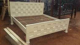 6x6 wooden bed