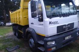 MAN Tipper LE 26-280 Truck