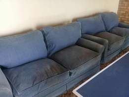 2× 2 Seater couches