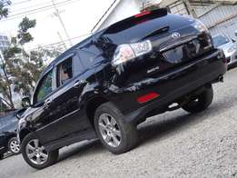 Toyota Harrier 2012 model black colour just arrived Very clean