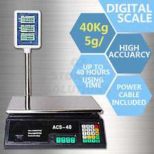 New 5g/40kg Electronic Computing Platform Digital Scale Weight Shop Po Nairobi CBD - image 1
