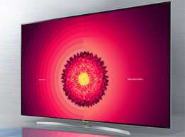 LG 65inch smart WebOs_4k UHD and satellite led hd tv+wall mount