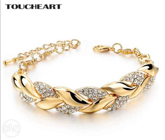 Bracelets & Bangles With Stones Luxury Crystal Bracelets For Women Wed