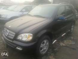 Tincan cleared tokunbo mercedes bens ml 350 05 fuloption