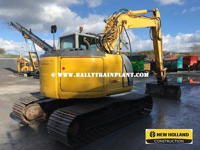 New Holland E135bsr-2 (2010) £35,000 - 2010