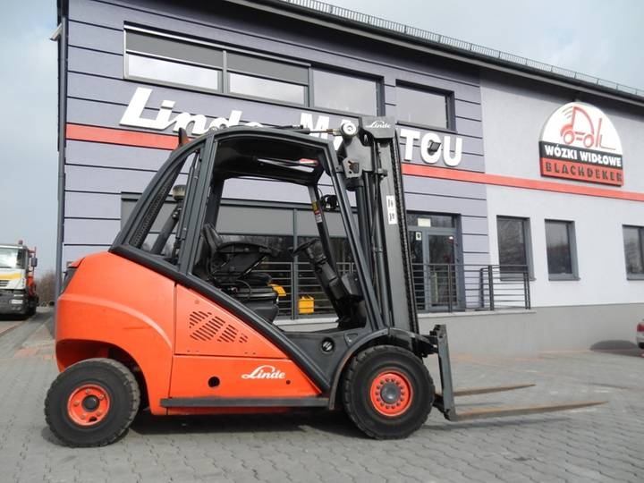 Linde H30D Side shift - 2012
