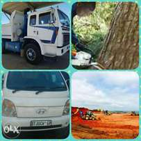 Tree fellings,Demolish,rubble removal and site clearance