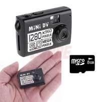 Nanny Camera, Hidden Camera, Spy Camera - Smallest DV Camera 8GB