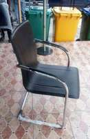 Affordable leather visitors OFfice Chair