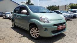 Toyota Passo Newshape, Lime Green, (KCM),Year 2010, 1300cc Automatic