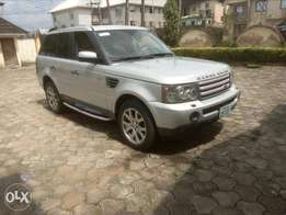 Registered 2008 Range Rover Sports