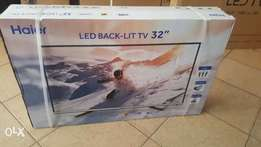 New 32 inch Haier Digital LED TV.