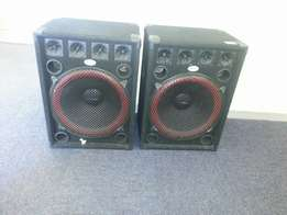 Ultronic dj speakers 18 ""