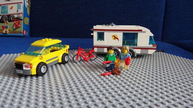 Lego City Samochód Z Przyczepą Kempingową Car And Caravan 4435 łódź