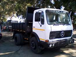 Mercedes 6m Tipper, 1419 Series