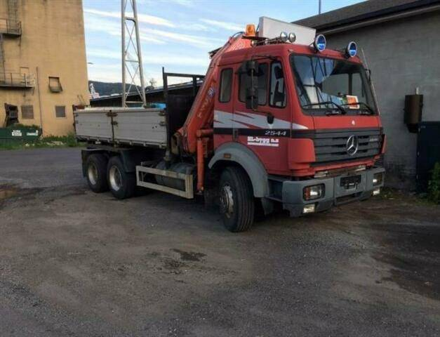 Mercedes-Benz SK2544 SOON EXPECTED 6X2 EPS FULL STEEL FASS - 1995