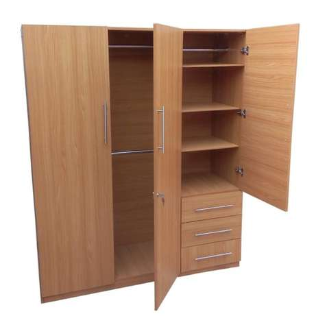 3 Door Wardrobe with drawers (Reference: fx031cc) Ikeja - image 1