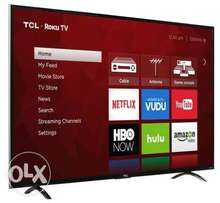 Tcl 49inch Ultra HD smart TV