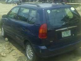 Clean Mitsubishi Spacestar GLX 2000 manual for N470,000