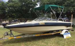 2002 Classic 210 with 200hp Evinrude