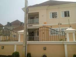 A tastefully finished & brand new 4bedroom duplex with 1bedroom BQ