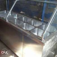 Food warmer binmarine six full basin